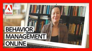 Positive Behaviour Management Strategies for Online Teaching   Teaching Online Masterclass