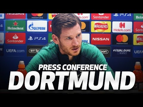 JAN VERTONGHEN PRESS CONFERENCE | Spurs v Dortmund
