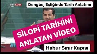 Osman Bilen TRTKURDİ'NİN Canlı yayınında Silopi Tarihini anlatan videosu.