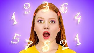 LEARNING MATH || Smart Life Hacks For Every Ocasion by 123 GO! SCHOOL