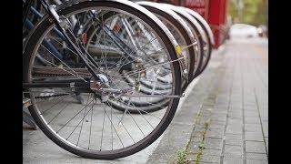 В Украине почти отсутствует велосипедная инфраструктура