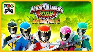 Могучие рейнджеры Дино заряд * Power Rangers Dino Charge * Мультик игра для детей