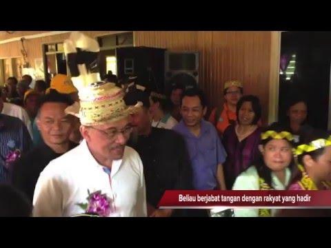 Datuk Seri Anwar Ibrahim melawat Loagan Bunut