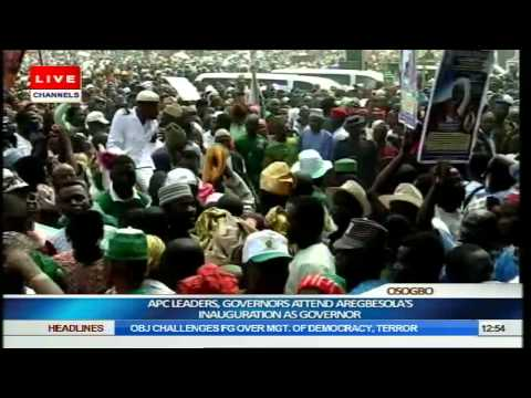 Inauguration Of Rauf Aregbesola As Governor Of Osun State Part 5