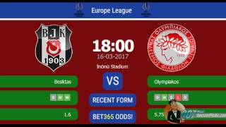 Video Gol Pertandingan Olympiakos Piraeus vs Besiktas