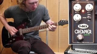 T-Rex Creamer reverb | Haar Guitars Demo