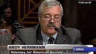 American Society of Civil Engineers: Congressional Testimony