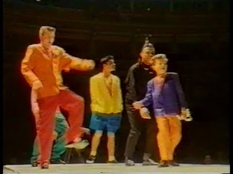 Madness - Suggs, Carl & Lee Appearance at Fashion Aid (UK TV) 05/11/85