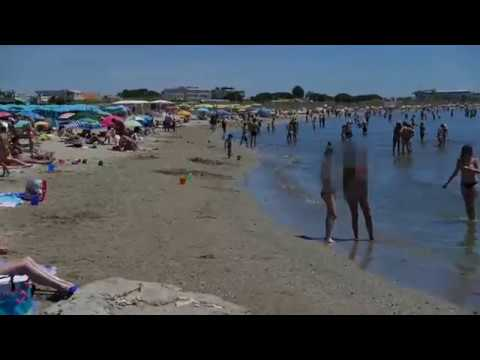 tourbillon sur la plage