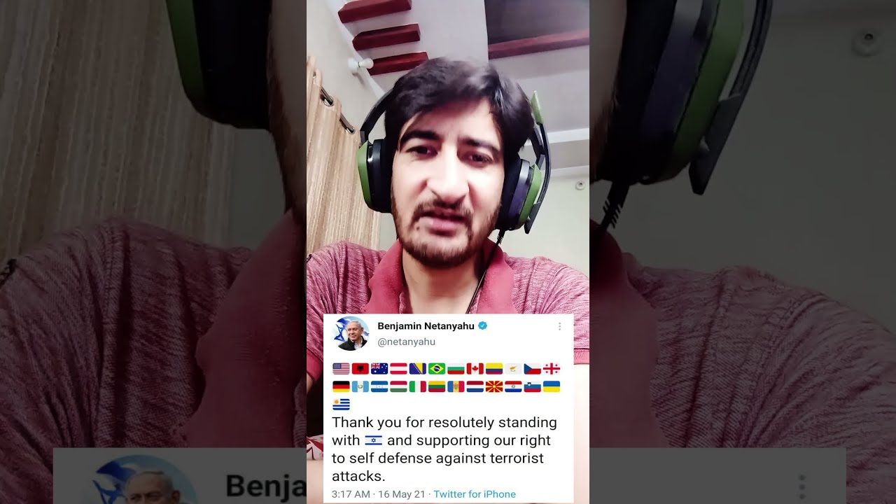 Indians Angry On Israeli PM Tweet
