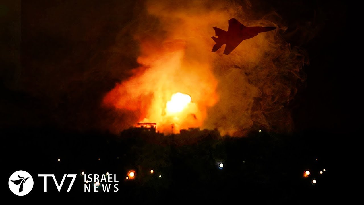 IDF Responds Forcefully to Palestinian Rocket Fire - 12.9.19 TV7 Israel News