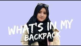 WHAT'S IN MY BACKPACK? // TRAVEL EDITION