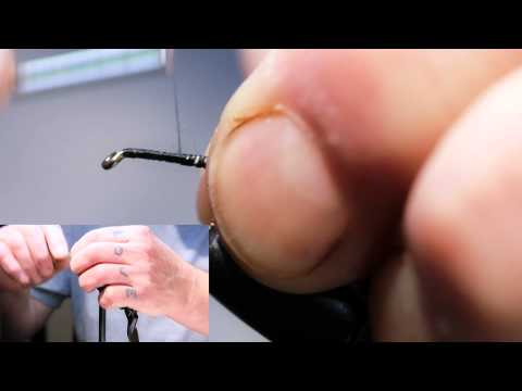 Fly Tying Lesson - Black Pennel