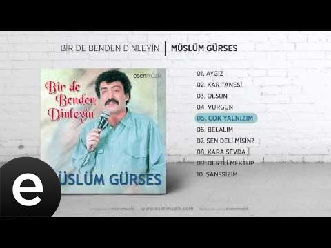 Çok Yalnızım (Müslüm Gürses) Official Audio #çokyalnızım #müslümgürses