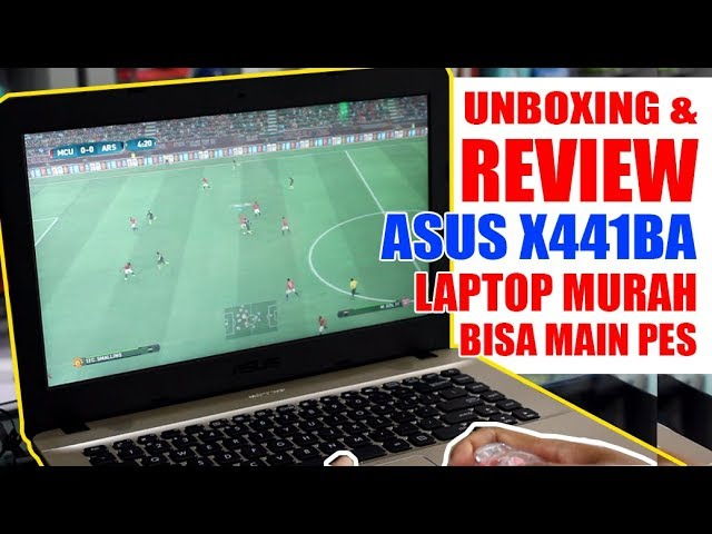 Review Asus X441ba Laptop Grafis Murah Bisa Main Pes Youtube