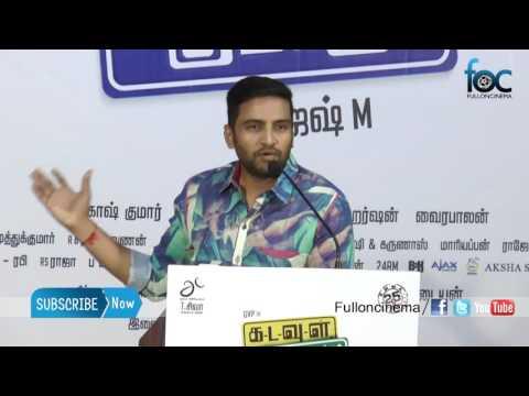 Santhanam comedy speech at Kadavul Irukaan Kumaru Teaser Launch - Fulloncinema