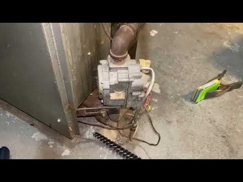 Annual Heating Maintenance Hydrotherm HC-12 Very High CO How To Test PowerPile Pilot Generator