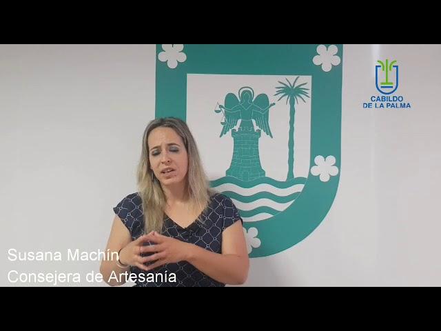 Declaraciones de Susana Machín sobre la prueba para la obtención del carné de artesano.