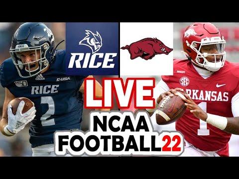 Live: Arkansas 7, Rice 10