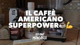 Il caffè americano con i super poteri: il Bulletproof coffee