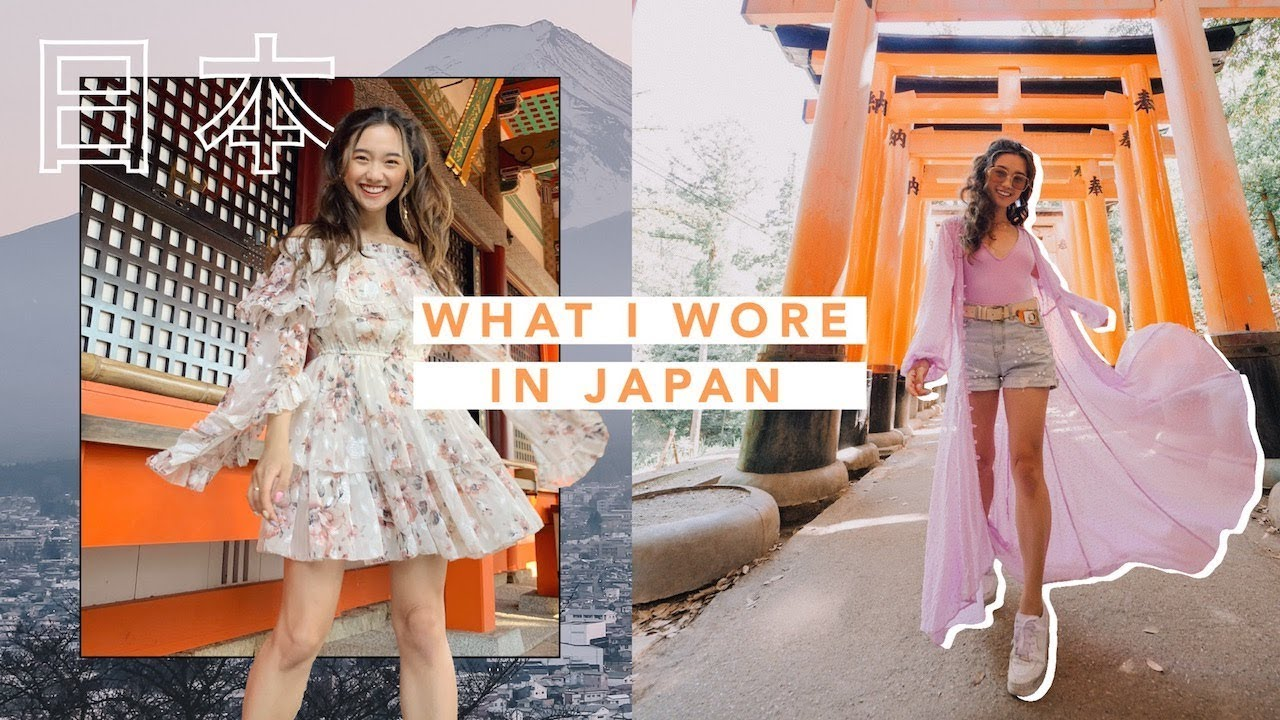 WHAT I WORE IN JAPAN 🇯🇵 Kyoto + Tokyo
