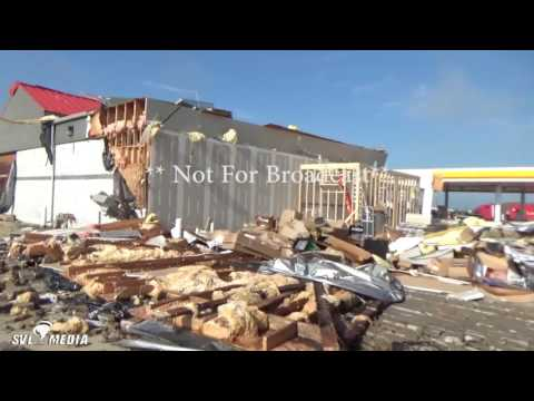 Rich Lewis - Pontiac, Illinois - Tornado Damage - June 23rd, 2016