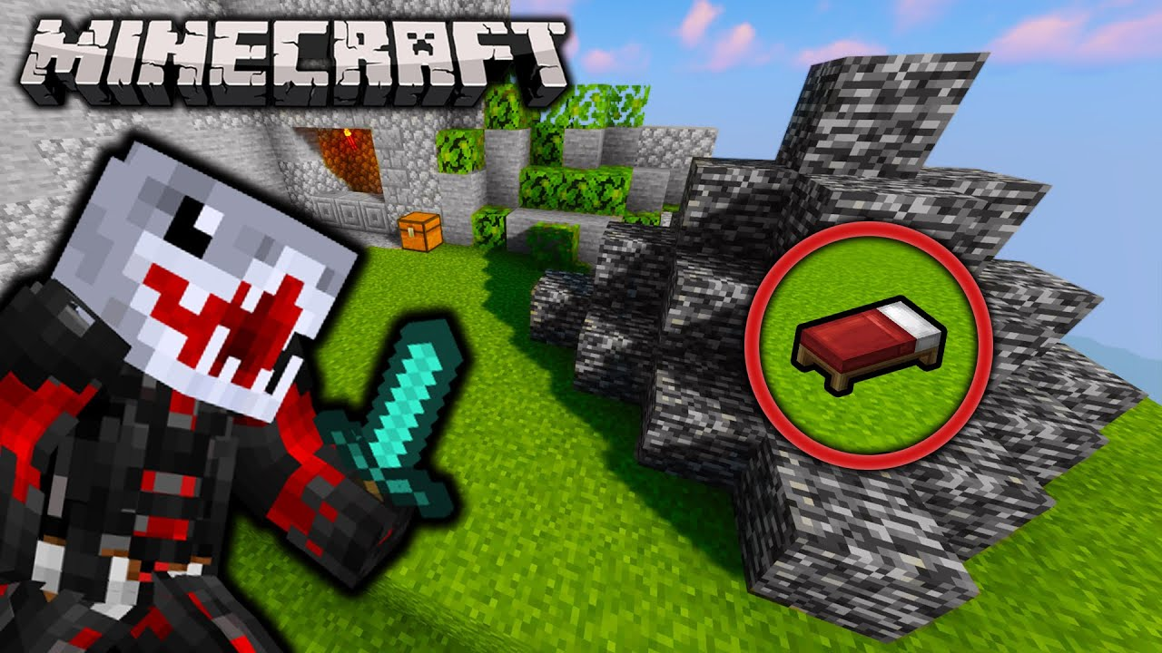 The Secret Bed Wars Block Minecraft Bed Wars On Hypixel Youtube