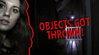 Haunted Poltergeist House (OBJECTS GOT THROWN)