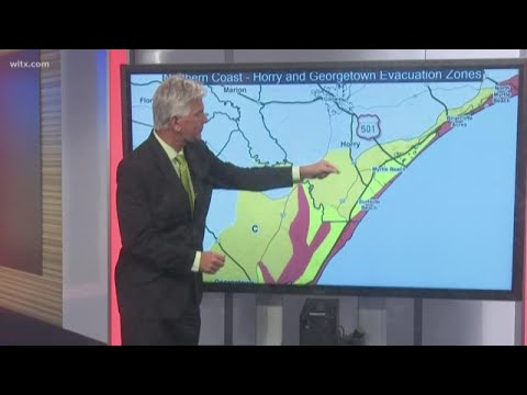 Know Your Zone: Hurricane Evacuation Plans for South Carolina