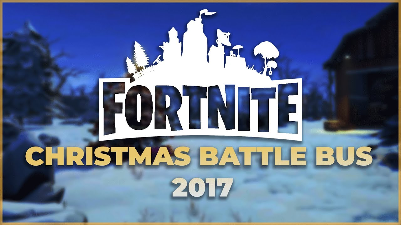 Fortnite Christmas Bus Theme Cover Youtube