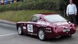 Cars in the The Healeysport Championship 2013 Shelsley Walsh Hill Climb 22/9/13