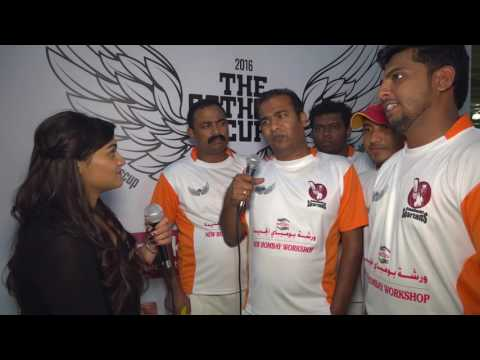 Interview with Spartans Abu Dhabi Cricket Team - Catholic Cup 2016