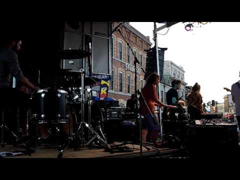 TALK OF THE STREET Kingston BluesFest FULL SHOW - Drum Cam