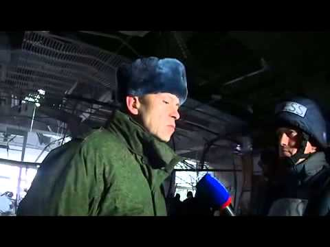 Basurin-Ukrainian media lied at the airport in Donetsk there is no representative of Ministry of