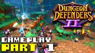 dungeon defenders 2 gameplay part 1 early access