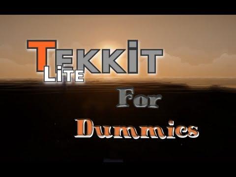Lets Tekkit Lite for Dummies - Lagersystem mit Standart Transport Pipes