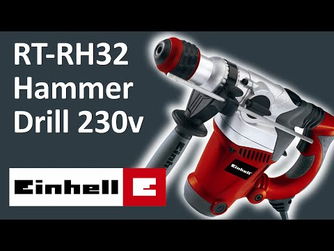 UNBOXING - Einhell RT-RH32 Rotary Hammer Drill 230v