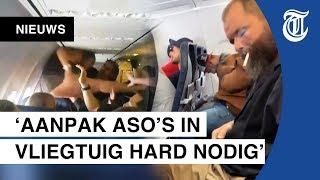 Nieuw verdrag voor asociale vliegtuigpassagiers