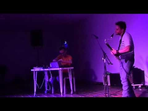 Machinefabriek & Gareth Davis, live in Studio Loos