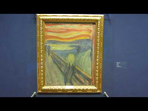 "Edvard's Munch ""The Scream"" @ The National Gallery (Oslo 2015)"