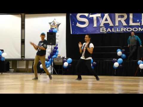 Dance Apocalyptic Line Dance by  Roy Hadisubroto & Sobrielo Philip Gene  Demo @ VDE 2015