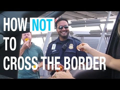 RV America: How NOT to Cross the Border from...