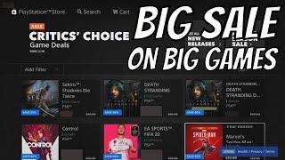 Big PS4 Games Sale no ps plus …