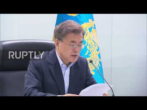 South Korea: Pyongyang's missile launch under investigation - President Moon