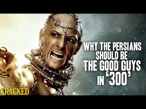 Why The Persians Should Be The Good Guys In '300' - Hilarious Helmet History #1