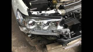 Land cruiser 200 2013 Conversion to 2016 202 By Western Car Audio