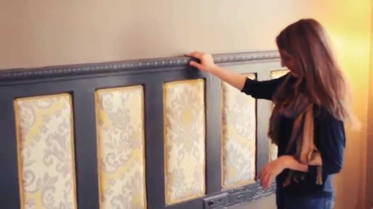 Make an Upholstered Headboard    Buildipedia DIY   YouTube