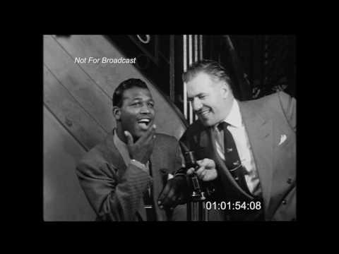 Sugar Ray Robinson Interview (1952)