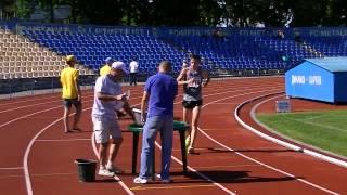 10000 сп ходьба  Чемпионат Украины Юноши 22 06 13  Харьков