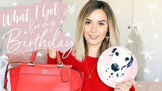 WHAT I GOT FOR MY BIRTHDAY 2017 | Hello October Vlogtober Day 7